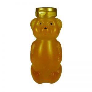 12 oz. LDPE Round Belly Bear Bottle